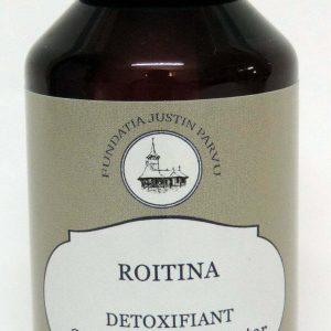 Tinctura Roitina pentru detoxifiere