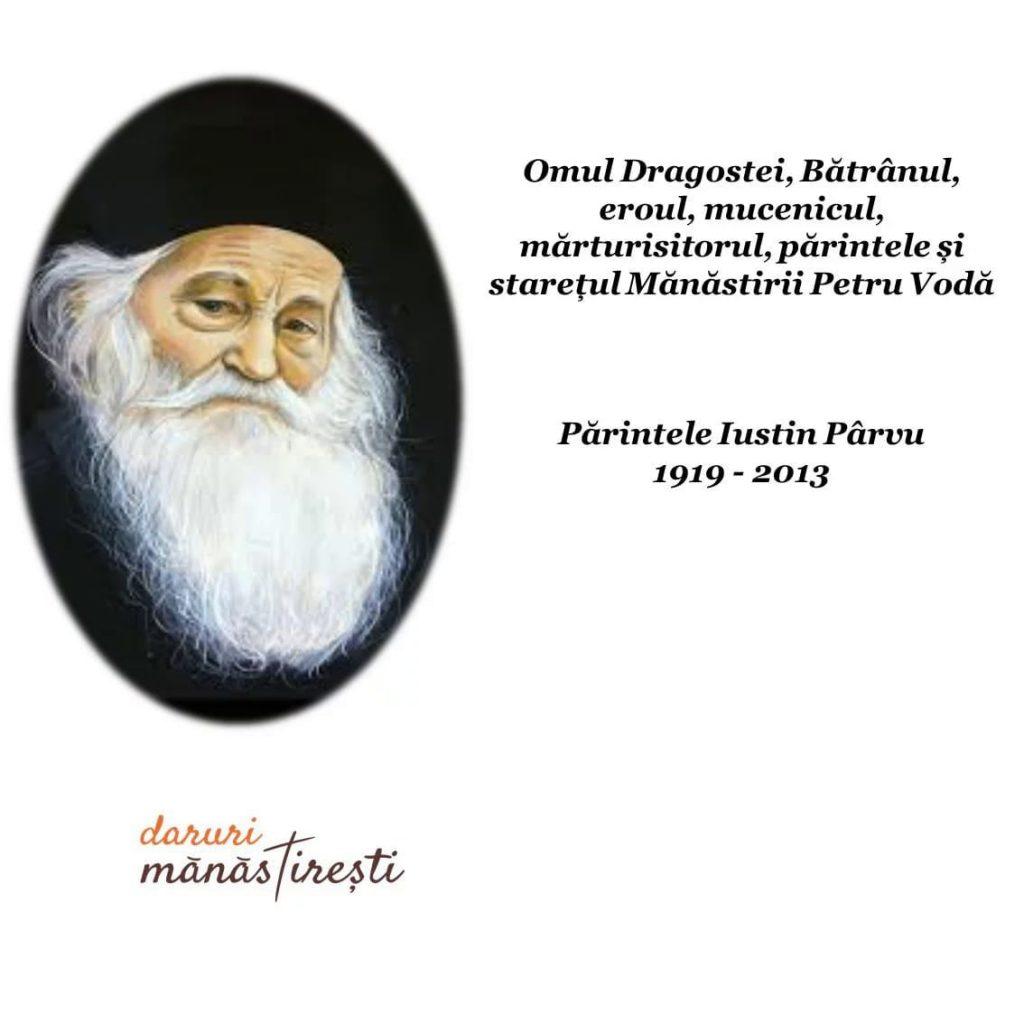 Părintele Justin Pârvu- Omul Dragostei