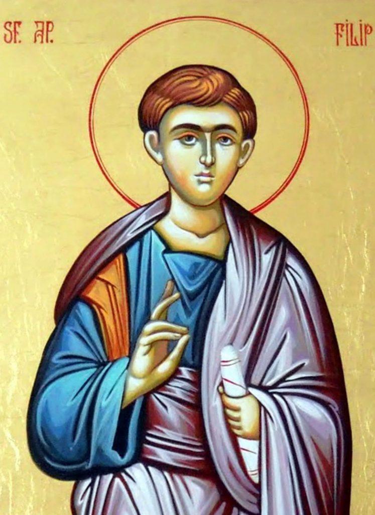 Viaţa Sfântului Apostol și Arhidiacon Filip