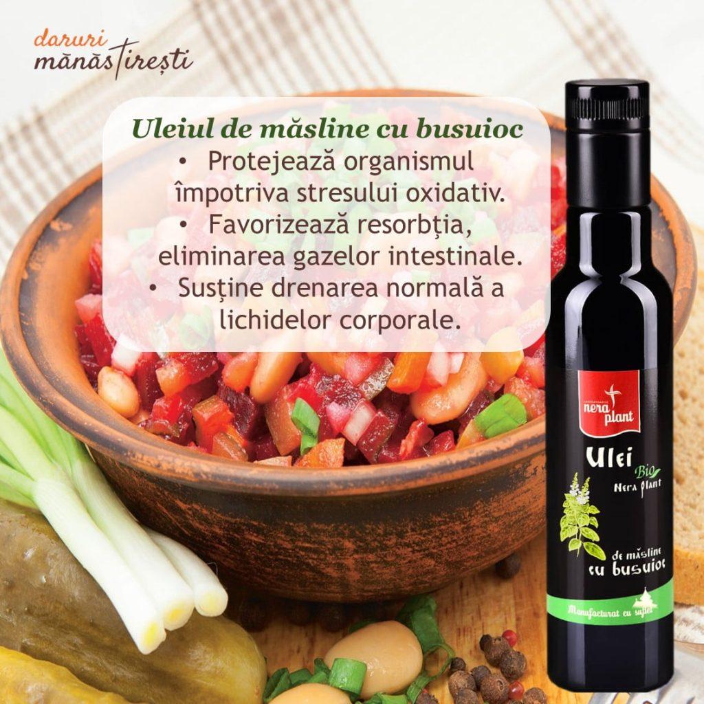 Salată cu Ulei de-măsline și Busuioc