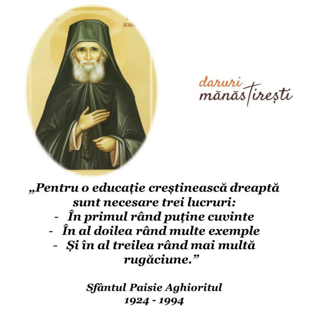 Fericirile Sfântului Paisie Aghioritul