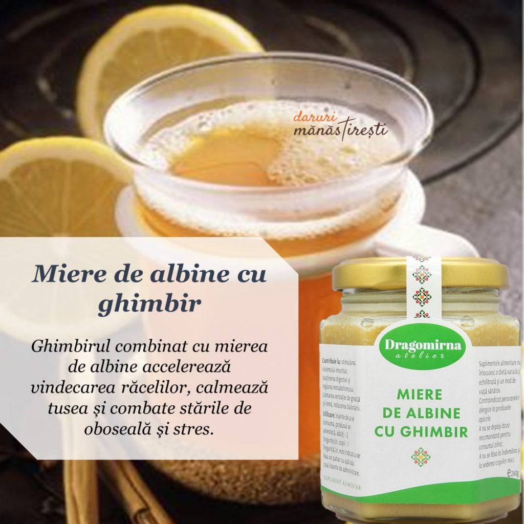 Ceai de lămâie-scorțișoară Miere de albine-ghimbir