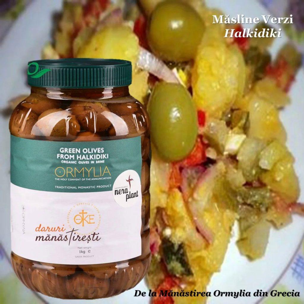 Salată orientală cu Măsline verzi Halikidi