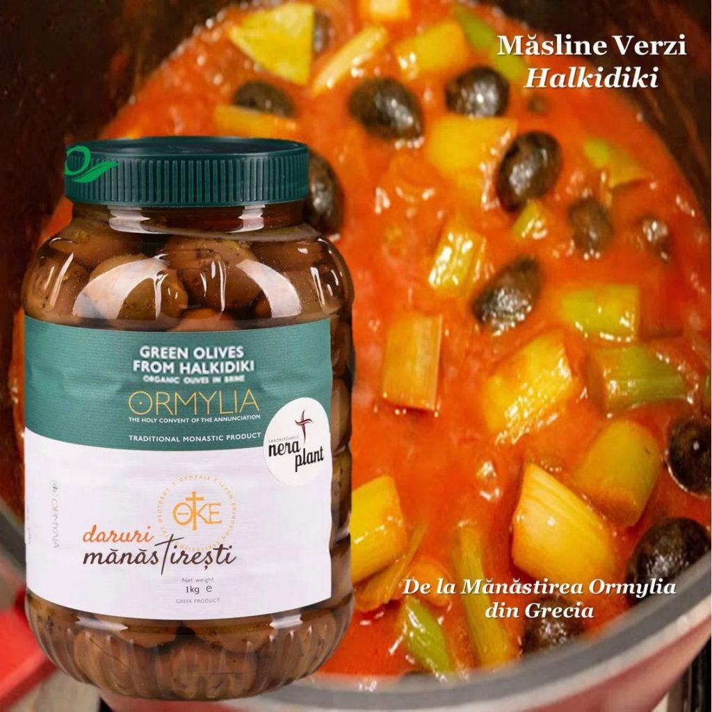 Mâncare de praz cu Măsline Halikidi