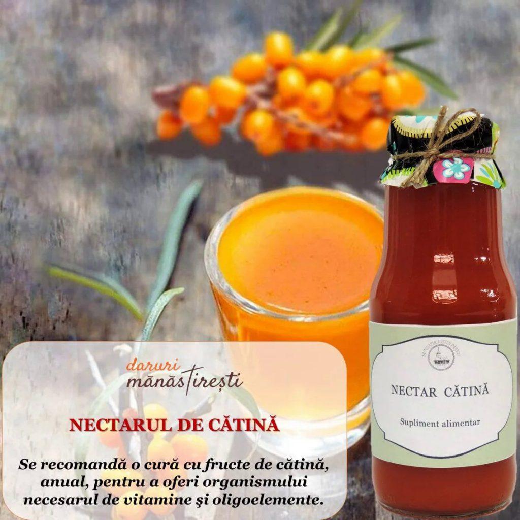 Suc natural din Nectar de cătină