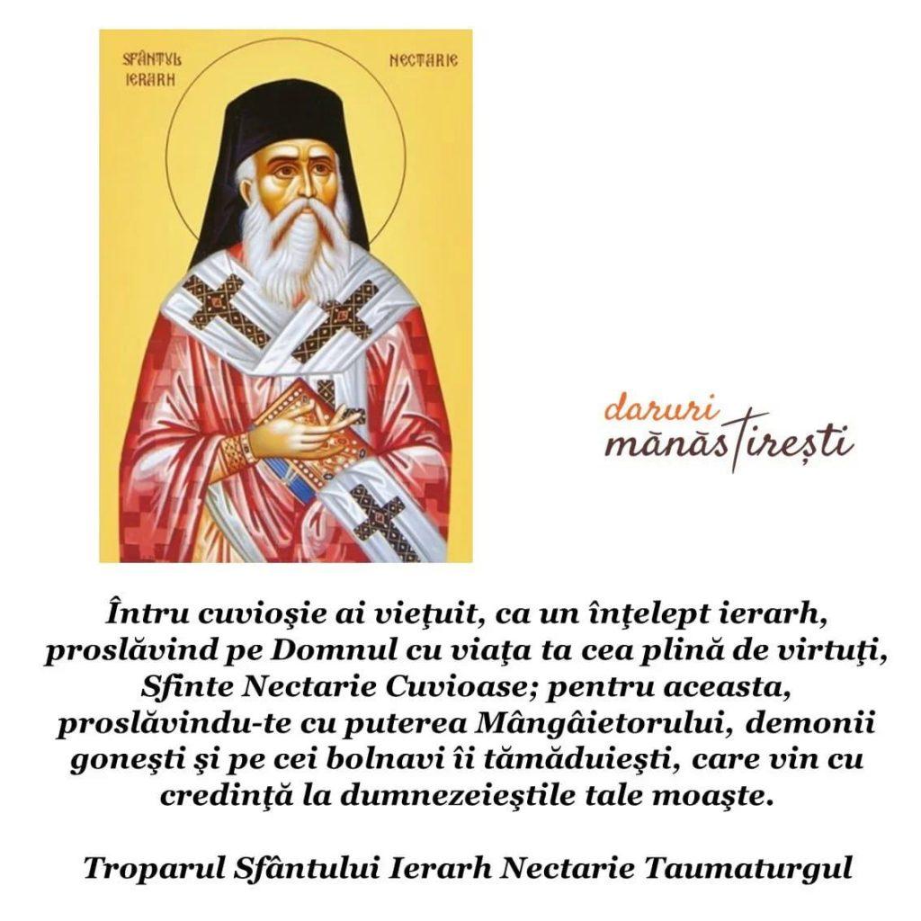 Viața Sfântului Nectarie Taumaturgul din Eghina