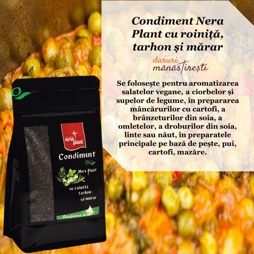 Mazăre cu Condiment roiniță-tarhon-mărar