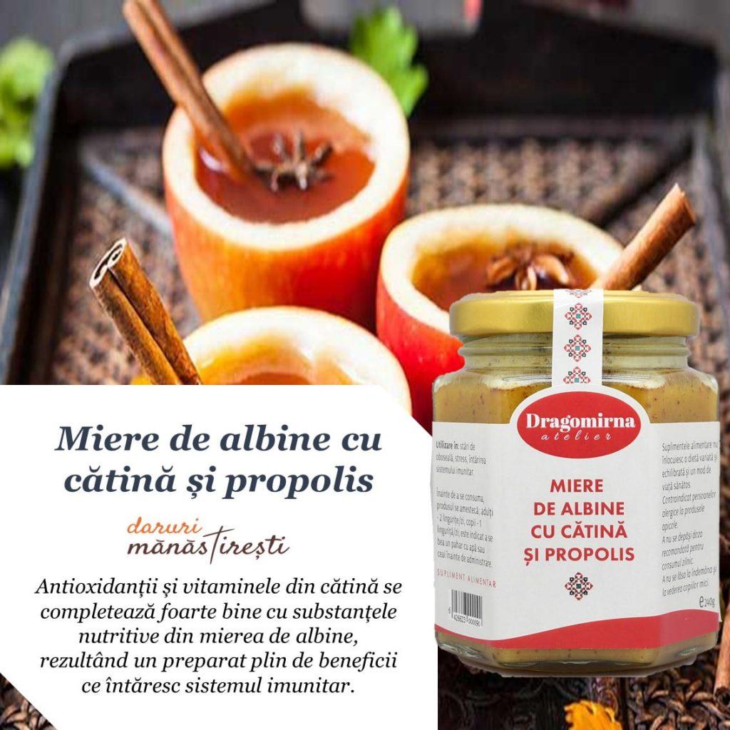 Ceai aromat cu mere-pere Miere-de-albine