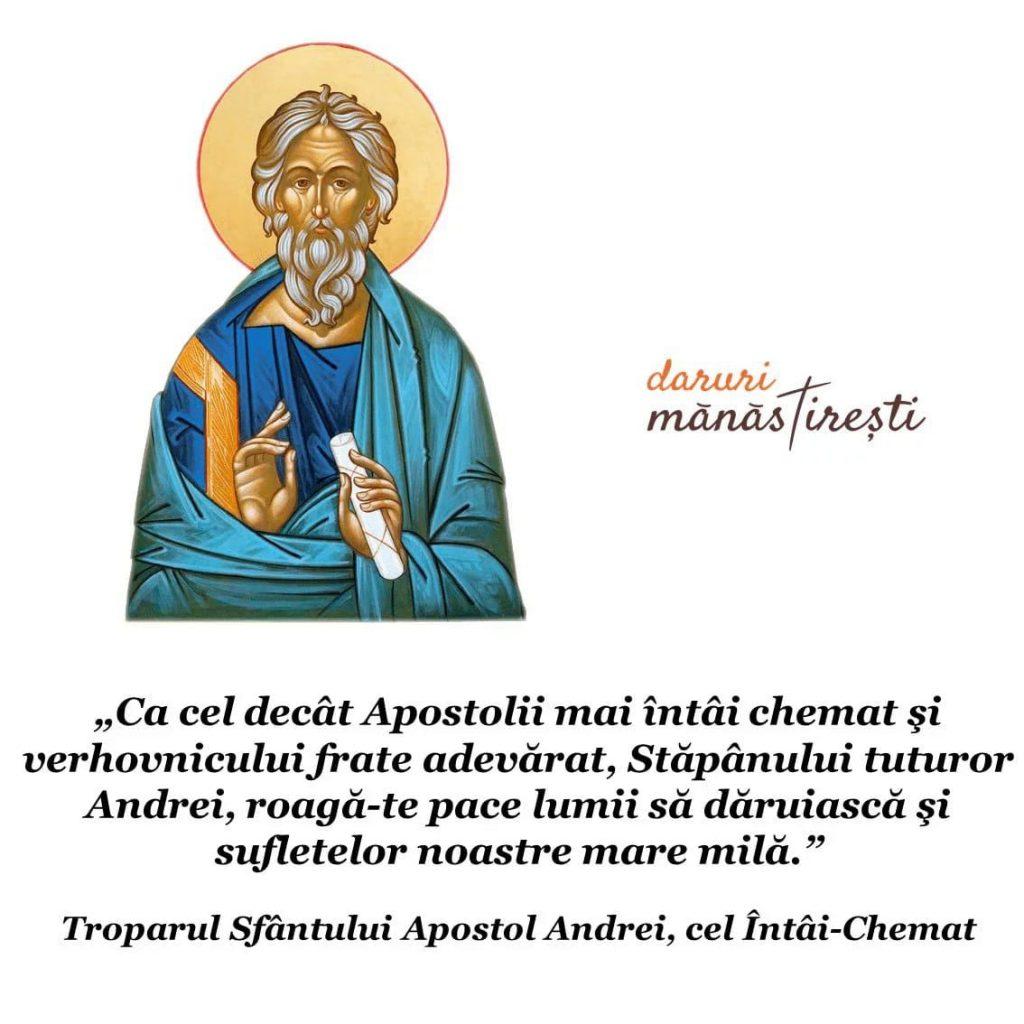Părintele Cleopa despre Sfântul Apostol Andrei
