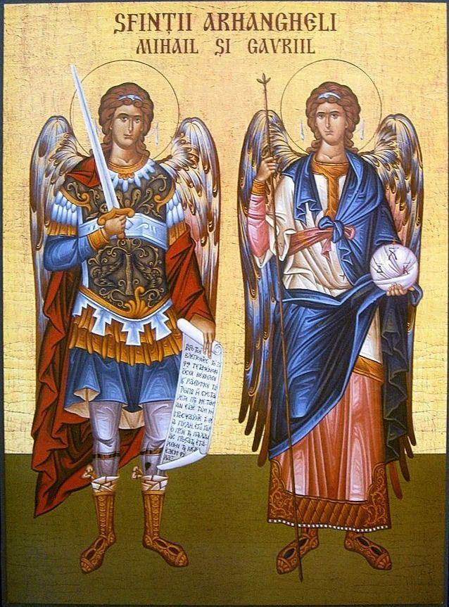 Sărbătoarea Sfinților Arhangheli Mihail și Gavriil