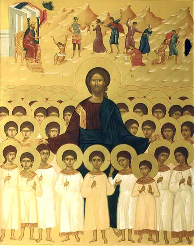 Sfinții 14.000 prunci uciși de Irod