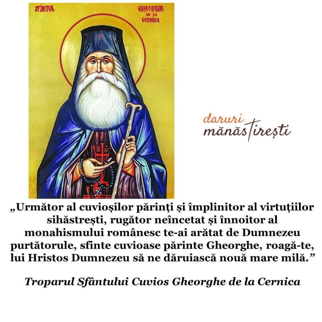 Viața Sfântului Gheorghe de la Cernica