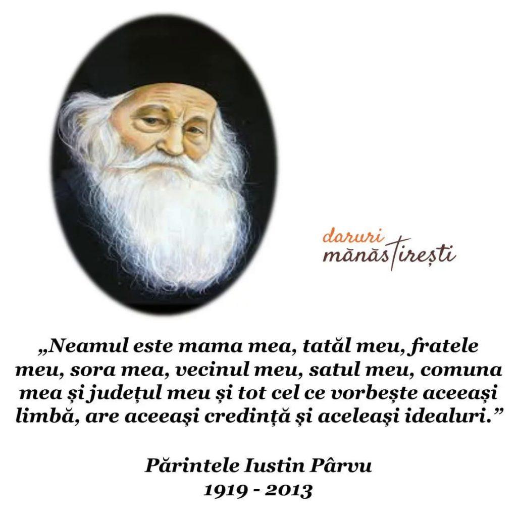 Părintele Justin Pârvu: crezul în România
