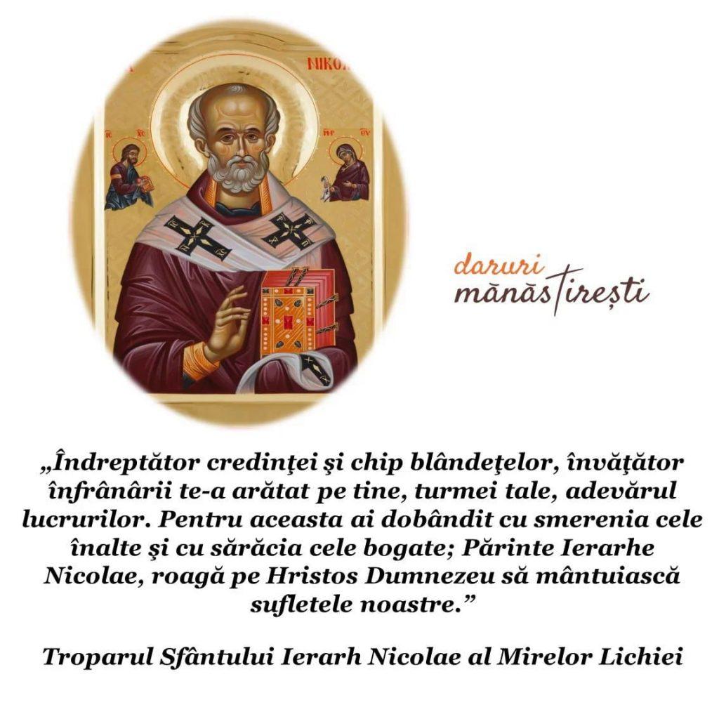 Cuvânt de învățătură despre Sfântul Nicolae
