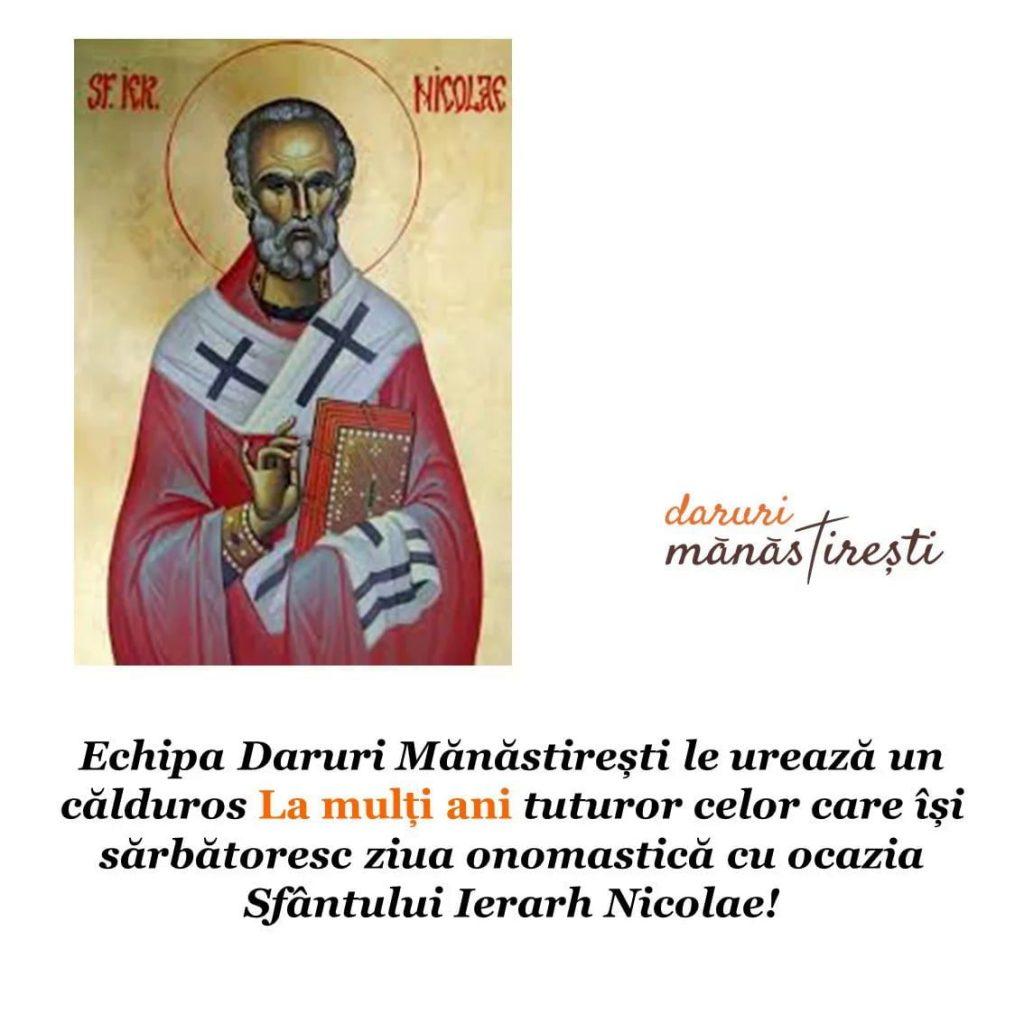 Viața Sfântului Ierarh Nicolae