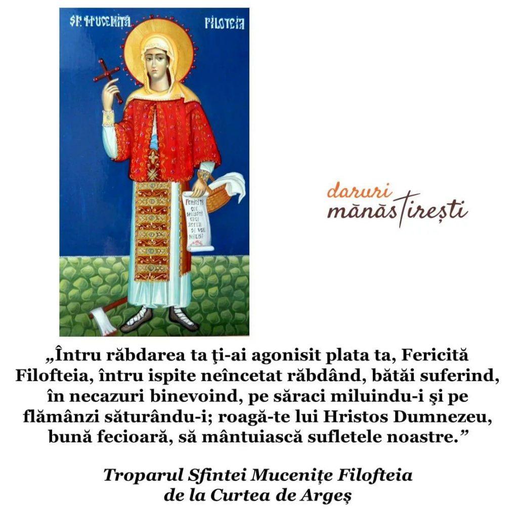 Viața Sfintei Mucenițe Filofteia