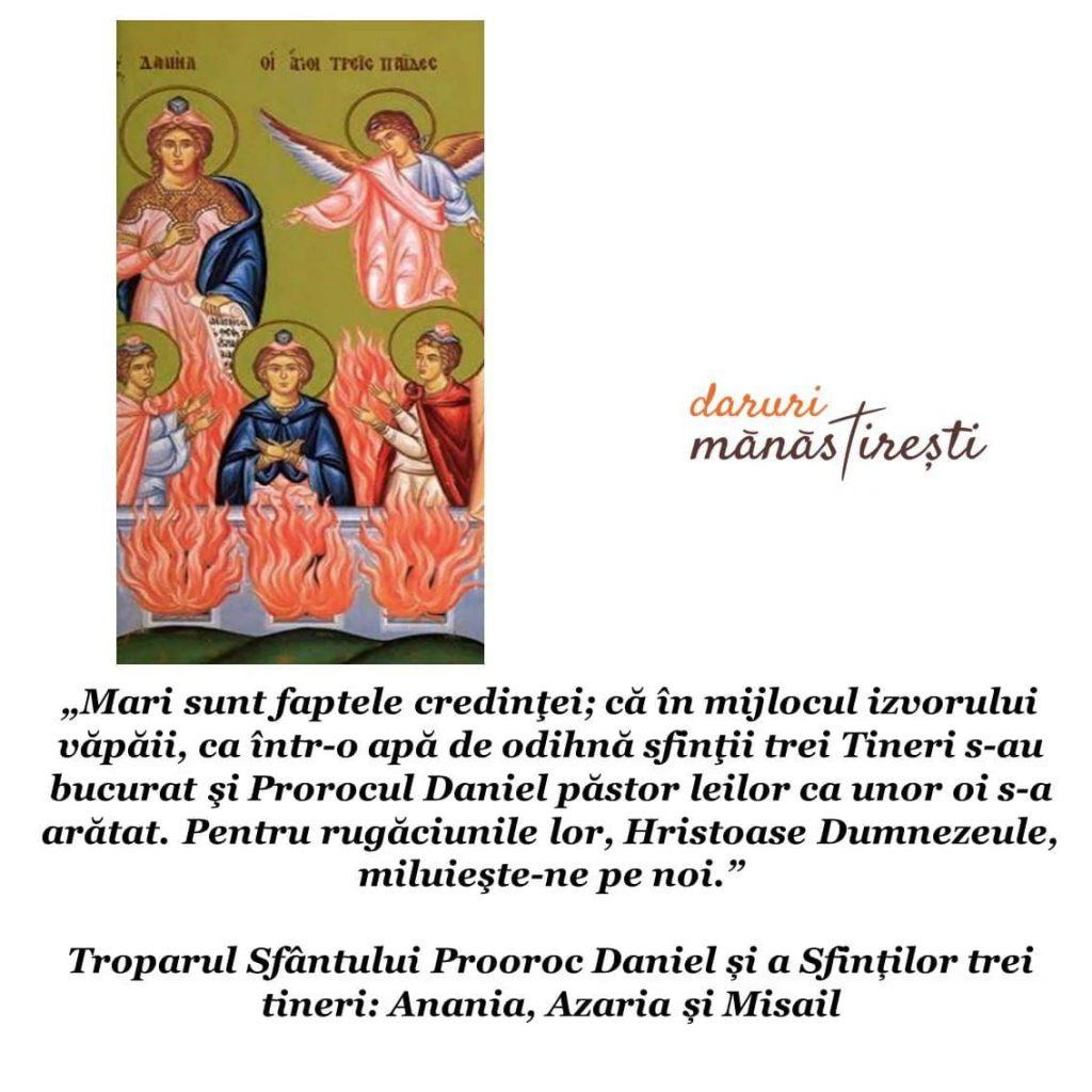 Viața Sfântului Prooroc Daniel și a Sfinților trei tineri: Anania, Azaria și Misail