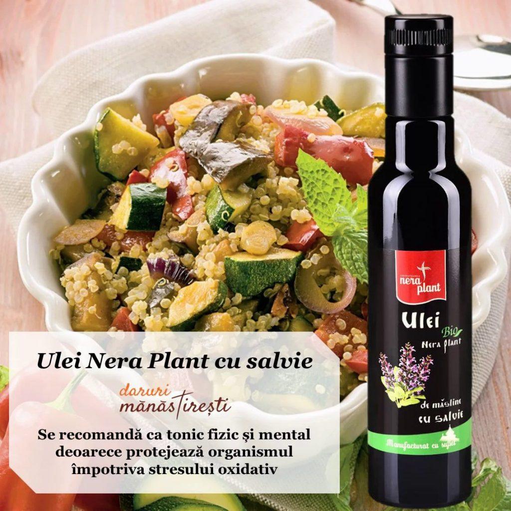 Salată de quinoa cu Ulei salvie