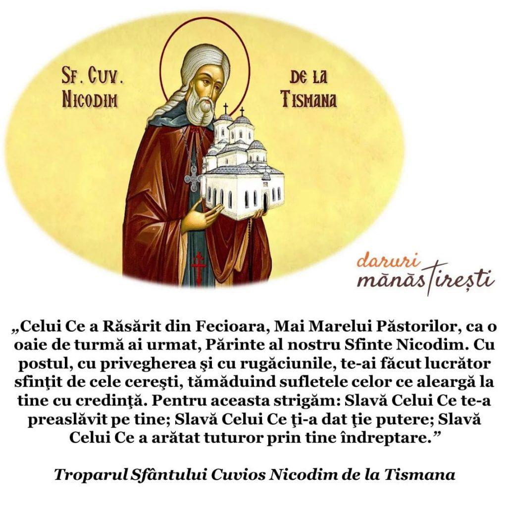 Viața Sfântului Nicodim de la Tismana