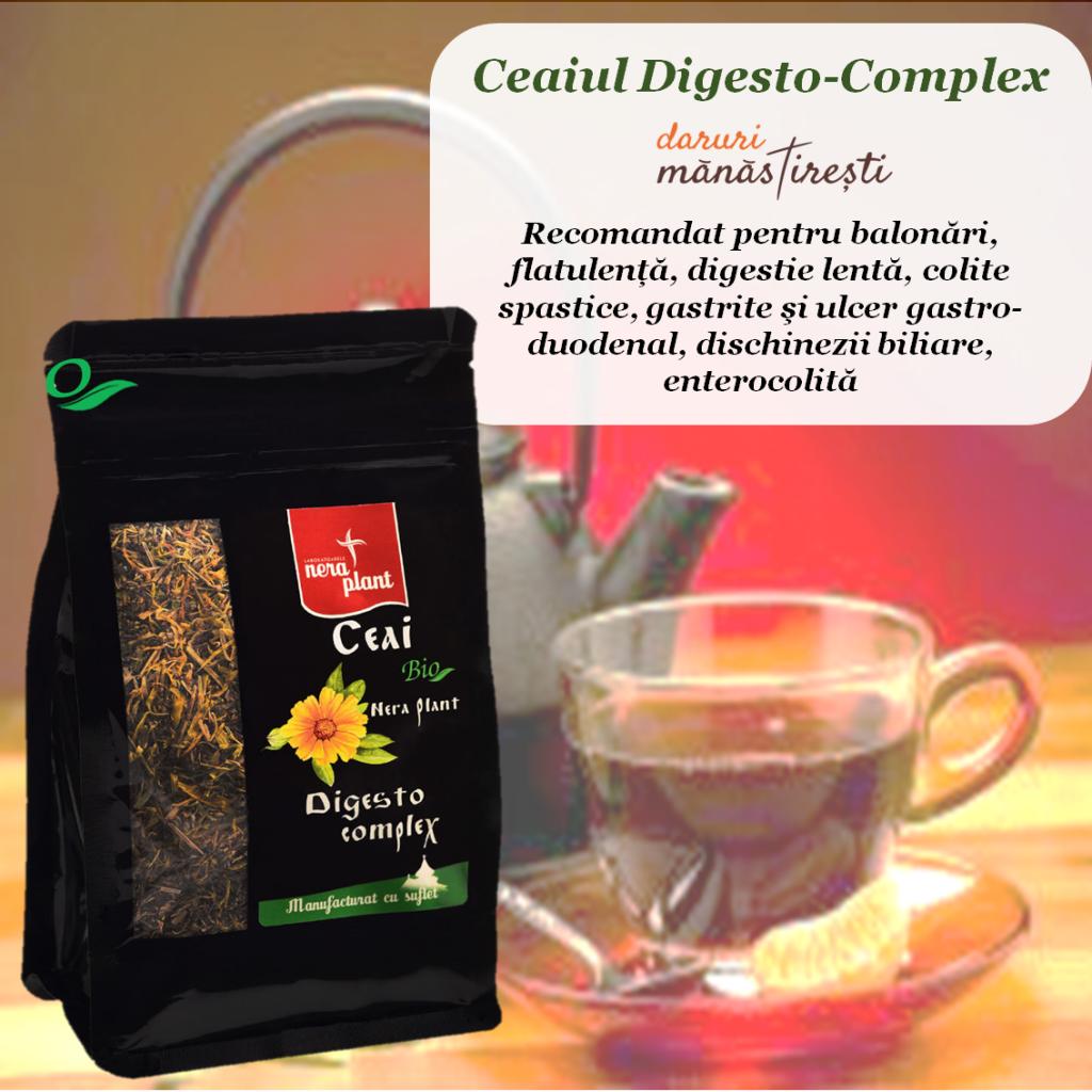 Ceai Digesto pentru digestie ușoară
