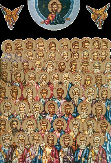 Soborul Sfinților 70 de Apostoli 04 ianuarie