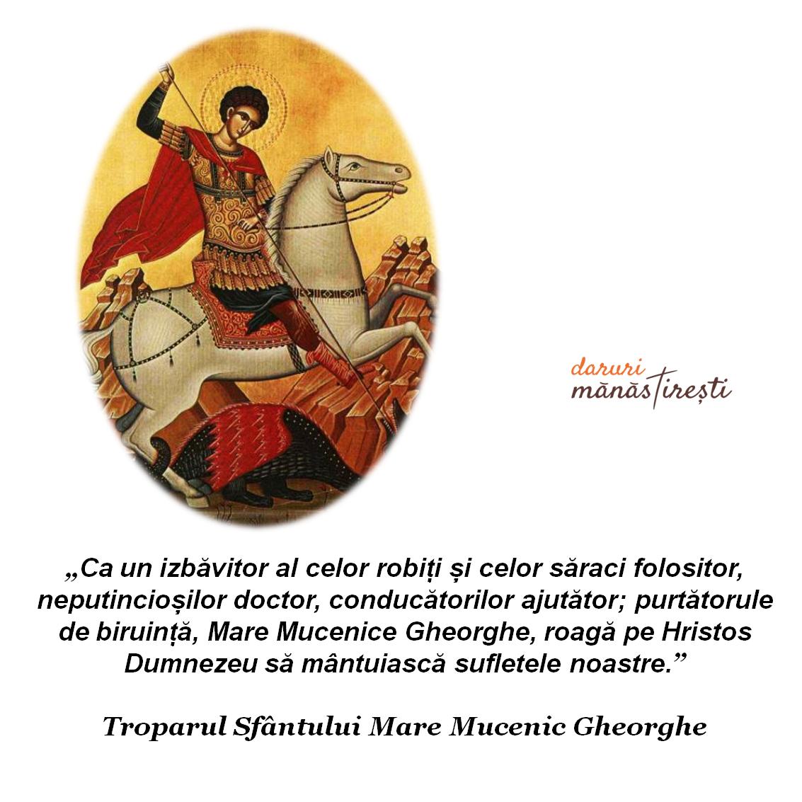 Viața Sfântului Gheorghe purtătorul de biruință