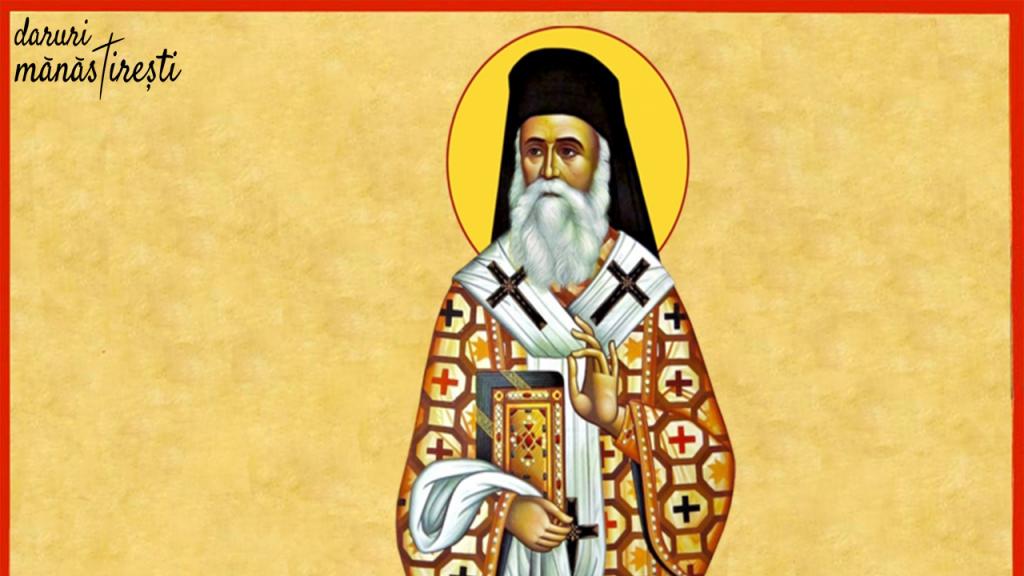 Sfântul Nectarie-Vindecător prin minunile mâinilor sale